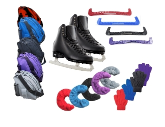 Boys/Men Riedell 133 Diamond Deluxe Figure Skating Package