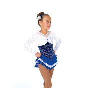 Jerry's 29 Snowy Sapphire Figure Skating Dress