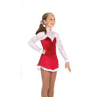 Jerry's 430 Candy Apple Figure Skating Dress