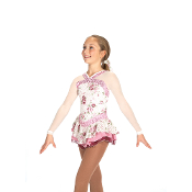Jerry's 445 Heirloom Roses Figure Skating Dress