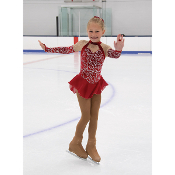 Jerry's 454 Roxy In Red Figure Skating Dress