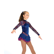 Jerry's 457 Lake Orchids Figure Skating Dress