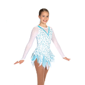 Jerry's 460 Frozen Icicles Figure Skating Dress