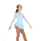 Jerry's 464 Romantic Lace Figure Skating Dress