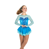 Jerry's 472 The Crystal Caper Figure Skating Dress