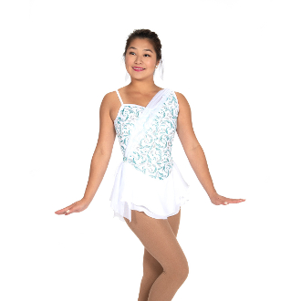 Jerry's 527 Pearly Pageant Figure Skating Dress