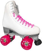 Jackson Finesse Outdoor Womens Roller Skates - White